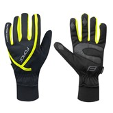 Rukavice zimní FORCE ULTRA TECH fluo